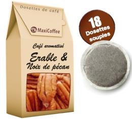 Caf� dosettes souples aromatis� �rable et noix de p�can x 18