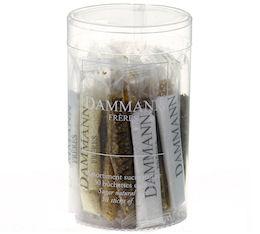 Boite de 30 dosettes de sucres assortis - Dammann
