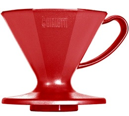 Dripper Bialetti 6363 conique rouge 2 tasses