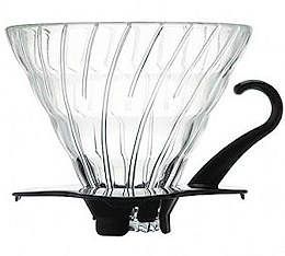 HARIO - V60 en verre transparent - 1/6 tasses
