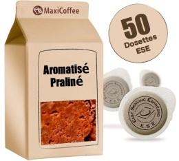 Dosette Café aromatisé Praliné x 50 dosettes ESE