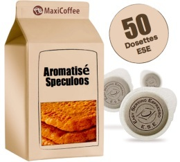 Dosette Caf� aromatis� Speculoos x 50 dosettes ESE