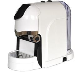 Espresso Cap Tekna blanche + 120 capsules offertes