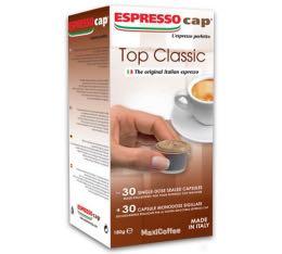 30 x Capsules Top Classic pour Cubo Espresso Cap