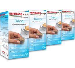 120 x Capsules Décaféinées pour Cubo Espresso Cap