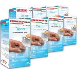 240 x Capsules D�caf�in�es pour Cubo Espresso Cap