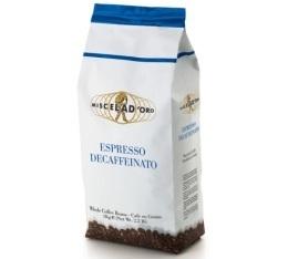 Caf� en grains Espresso Decaffeinato 1kg - Miscela d'Oro