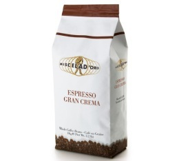 Caf� en grains Gran Crema 1kg - Miscela d'Oro