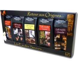 Etui D�couverte - Caf�s moulus aromatis�s - Maison Taillefer - 5x50g