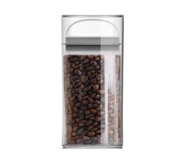 Boîte conservatrice en plastique avec vide d'air - EVAK -  S haute- 1L