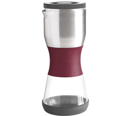 Cafetière Fellow Duo coffee steeper rouge bordeaux