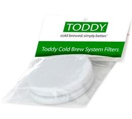 Filtre en tissu blanc pour Toddy x 2