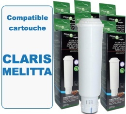 Lot de 6 Cartouches filtrantes Filter Logic FL701 compatibles Claris Melitta