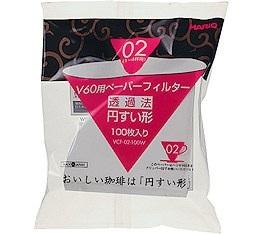 Filtre papier conique pour dripper v60 VDC-02 Hario x100