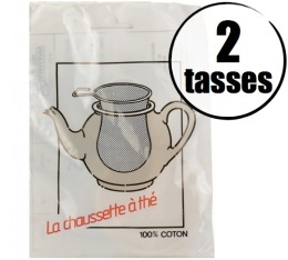 Filtre � th� 100% coton 2 tasses