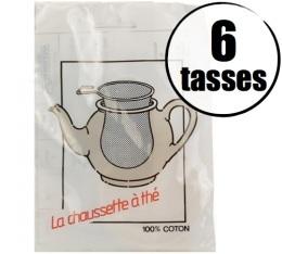 Filtre � th� 100% coton 6 tasses
