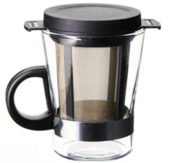 Set verre 20cl - filtre � th� flottant - Finum