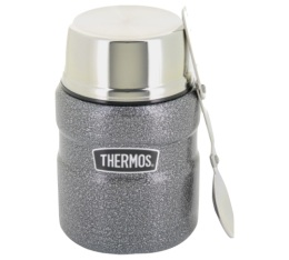Porte aliment King Hammertone Gris 470ml - Thermos