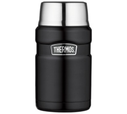 Lunch box Stainless King noir mat 71cl - Thermos