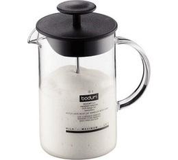 Mousseur  � lait manuel avec anse en verre Latteo de Bodum