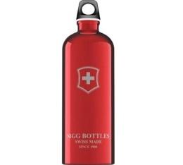 Gourde Sigg Emblème Suisse rouge 100cl