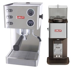 Machine expresso Lelit Grace PL81T + Moulin Lelit William PL71
