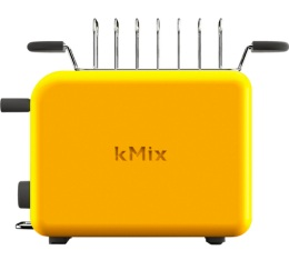 Grille-pain Kenwood Kmix TTM020YW Jaune Lemon Tonic 2 fentes