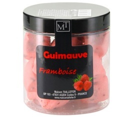 V�ritables guimauves Framboise - 75gr - Maison Taillefer