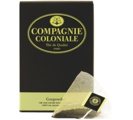 Th� Vert Gunpowder Compagnie Coloniale x 25 Berlingo�