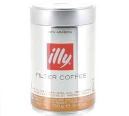 Café moulu Illy Filter Coffee (mouture café filtre) - 250g