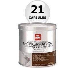 21 x Capsule illy Iperespresso Monoarabica Brazil