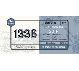 Infusion du Soir 1336 (Scop TI) x 25 sachets