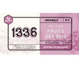 Infusion Fruits des Bois 1336 (Scop TI) x 20 Mousselines