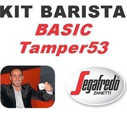 Kit Barista Basic TAMPER53 By Segafredo
