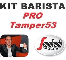 Kit Barista Pro TAMPER53 By Segafredo