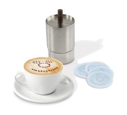 Décorateur cappuccino avec 4 disques - ILSA