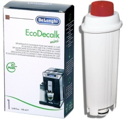 Pack Entretien ECO pour DeLonghi (cartouche filtrante compatible + détartrant)