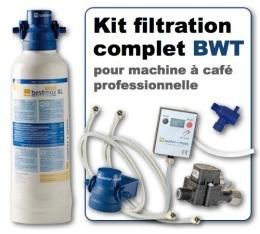 Kit de filtration complet pour machine à café professionnelle - BWT