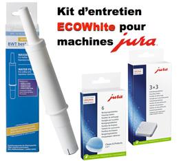 Kit Entretien ECO pour Jura - Compatible Claris White