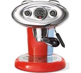 FrancisFrancis Iperespresso ILLY X7.1 rouge + offre cadeaux