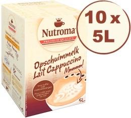 10x Nutoma Cappuccino BIB de 5L