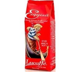 Café en grains Lucaffé  Exquisit x 1kg