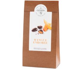 Sachet mangues enrob�es de chocolat noir - 125gr - Caf� Tasse