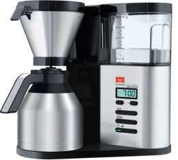 Cafeti�re filtre Melitta Aroma Elegance Therm Deluxe 1012-06 + offre cadeaux