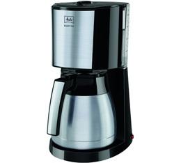 Cafetière filtre Melitta Enjoy Top Therm 1017-08 noir et acier brossé + offre cadeaux