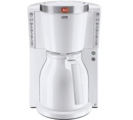 Cafeti�re filtre Melitta Look IV Therm Selection 1011-11 Blanc/acier bross� + offre cadeaux