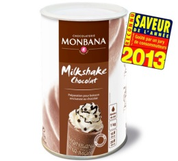 Milk Shake Chocolat 1Kg - Monbana
