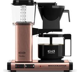 Cafetière filtre Moccamaster KBG741 Cuivre 1.25L + offre cadeaux