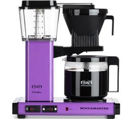 Cafetière filtre Moccamaster KBG741 Violette 1.25L + offre cadeaux