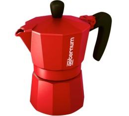 Cafeti�re italienne Aeternum Moka Allegra rouge - 3 tasses